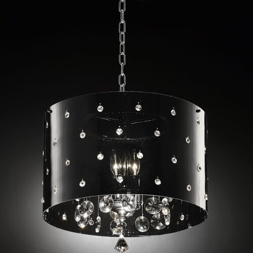 ORE Furniture Star Crystal 1 Light Ceiling Lamp