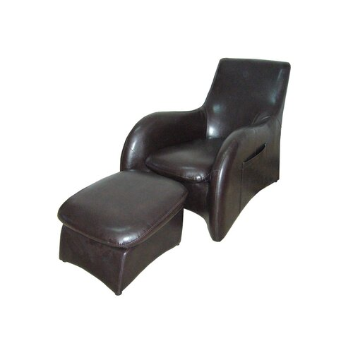 Solo Sofa Chair with Leg Rest