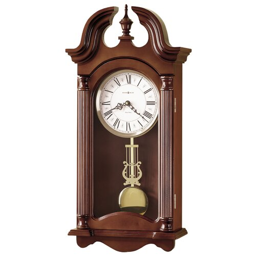 Chiming Quartz Everett Wall Clock