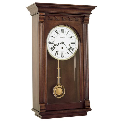 Howard Miller® Chiming Key - Wound Alcott Wall Clock
