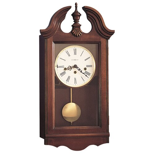 Howard Miller® Chiming Key - Wound Lancaster Wall Clock