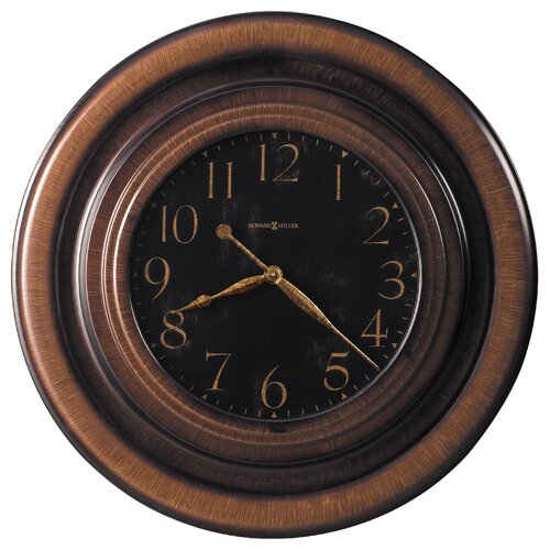 "Howard Miller® Rockwell Oversized 29.5"" Wall Clock"