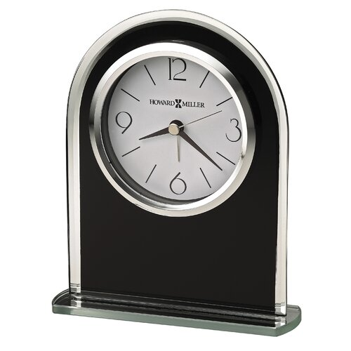 Howard Miller® Ebony Luster Alarm Clock