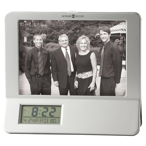 Newton Photo Frame Table Top Clock