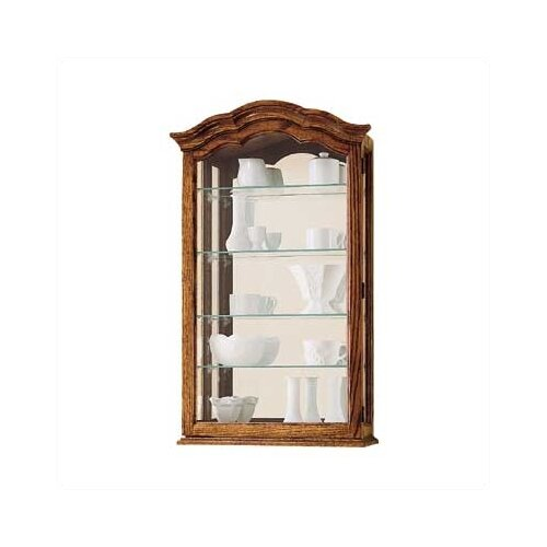 Howard Miller® Vancouver II Wall Curio Cabinet