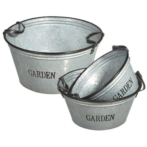 Midwest Seasons Round Pot Planter