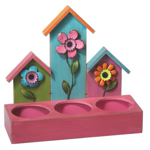 Midwest Seasons Birdhouse Planter