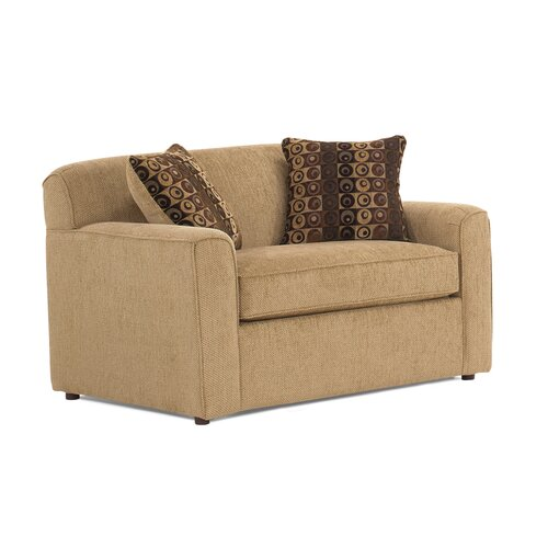 Reggae Twin Sleeper Sofa with Memory Foam Mattress