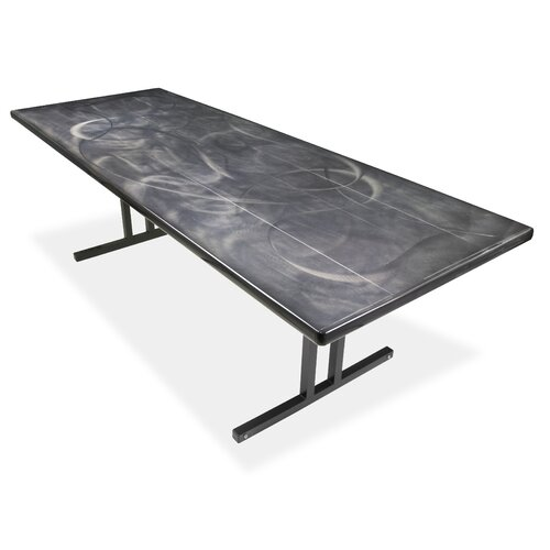 Southern Aluminum Swirl® Rectangular Folding Table