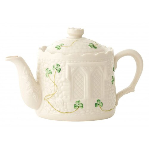 Belleek Castle Teapot