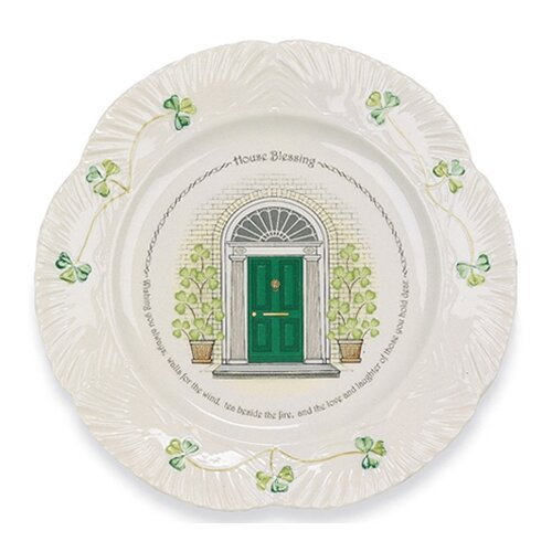 "Belleek House Blessing 9"" Plate"