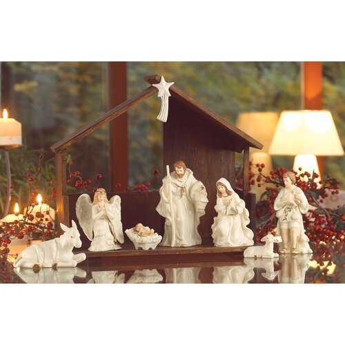 Belleek Holiday Nativity Set