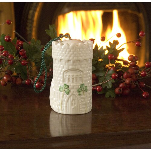 Belleek Malahide Castle Bell Ornament