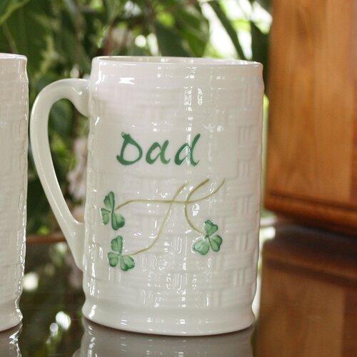 Belleek Dad Personalized Mug