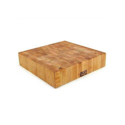 John Boos BoosBlock Square Maple Butcher Block Cutting Board