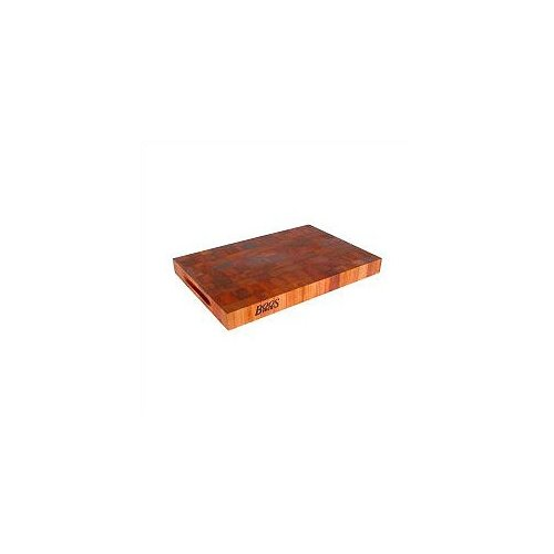 John Boos BoosBlock Reversible Cherry Wooden Cutting Board