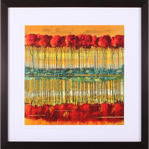 Amber Reception by Ford Smith Framed Painting Print