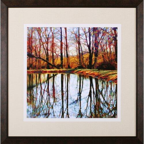 Autumn Mosaic by Carl Gethmann Framed Photographic Print