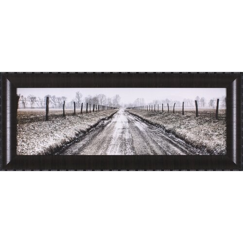 Picket Path by Todd Ridge Framed Photographic Print
