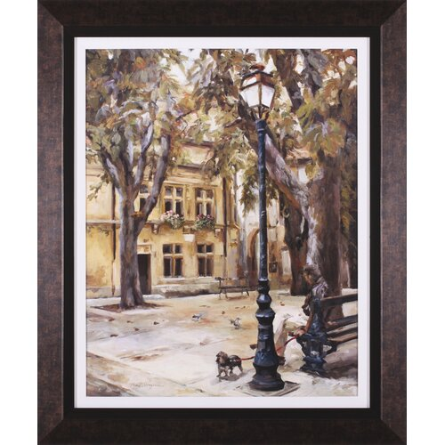 Art Effects Provence Village II by Marilyn Hageman Framed Painting Print