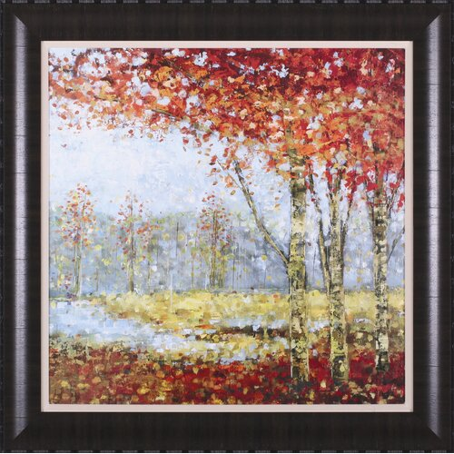 Into the Light I by Carmen Dolce Framed Painting Print