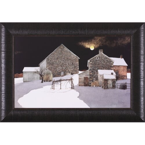 Art Effects Moonscape by Peter Sculthorpe Framed Painting Print