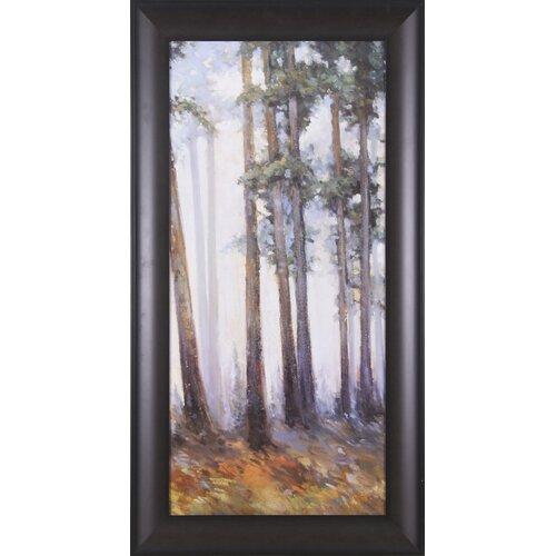 Art Effects Silver Trees II by Jill Barton Framed Painting Print