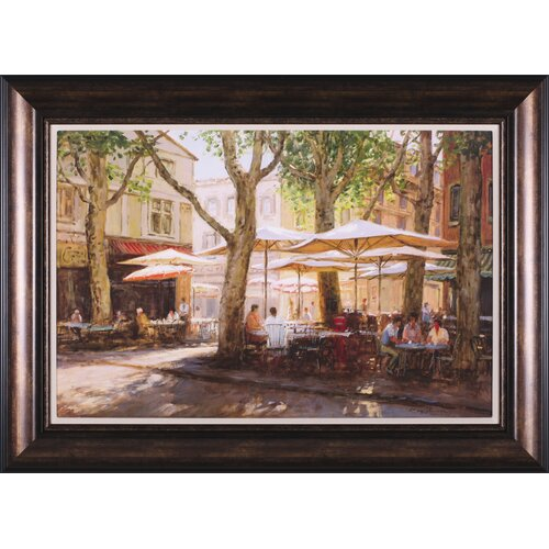 Art Effects Summer - Provence by George Bates Framed Painting Print
