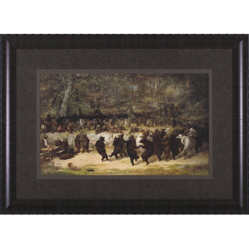 Art Effects The Bear Dance by William Beard Framed Painting Print