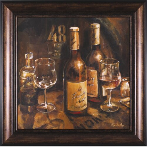 Art Effects Wine Making by Marilyn Hageman Framed Painting Print