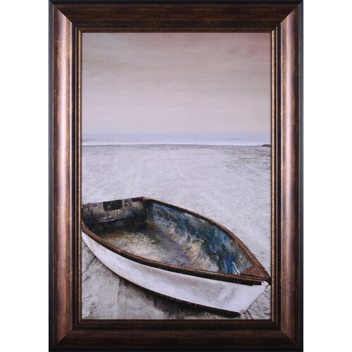 Doryman's Boat by Michael Cahill Framed Painting Print