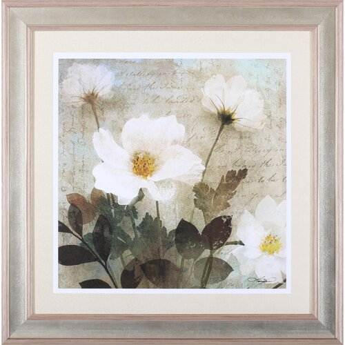Art Effects 'Anemone I' by Keith Mallett Framed Painting Print
