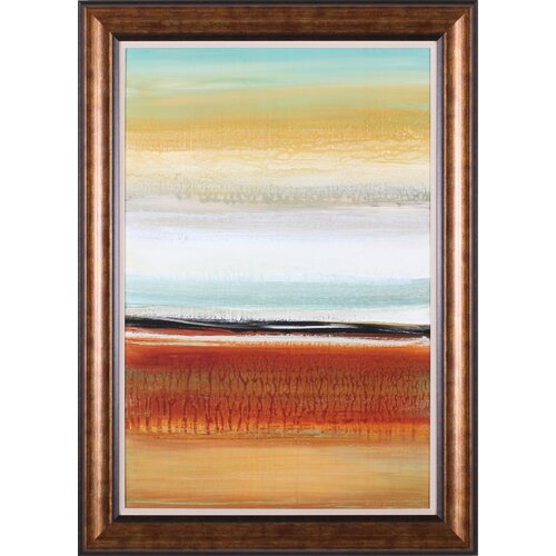 Art Effects 'Horizon Lines II' by Cat Tesla Framed Painting Print