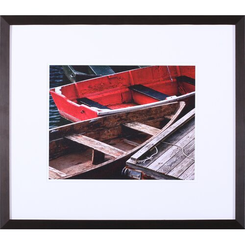 'Wooden Rowboats X' by Rachel Perry Framed Photographic Print