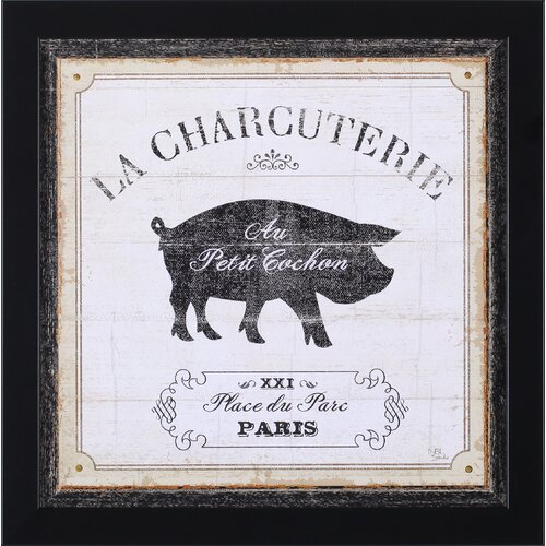 French Market I by NBL Studio Framed Graphic Art