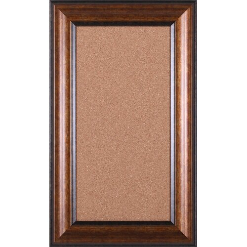 "Art Effects Accent 2' 6"" x 1' 6"" Bulletin Board"
