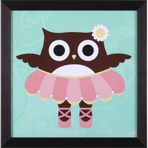 Art Effects Ballerina Owl Framed Art