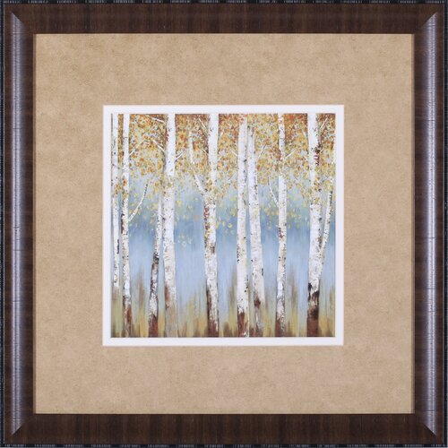 Art Effects Falling Embers I Petite by Allison Pearce Framed Painting Print