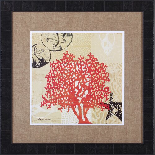 Art Effects Coral Impressions IV by Tandi Venter Framed Graphic Art