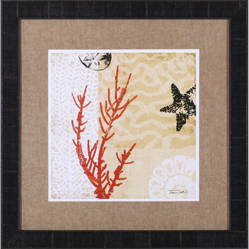 Art Effects Coral Impressions I by Tandi Venter Framed Painting Print