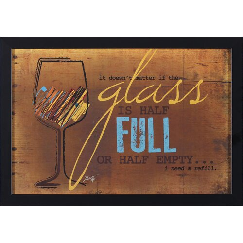 I Need A Refill by Marla Rae Framed Graphic Art