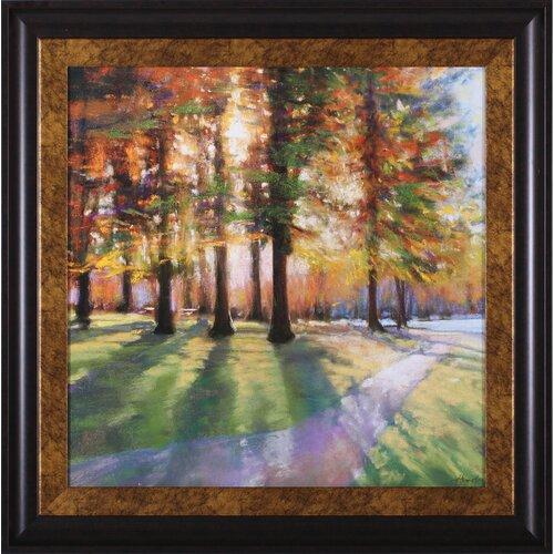 Art Effects Shadows by Amanda Houston Framed Painting Print