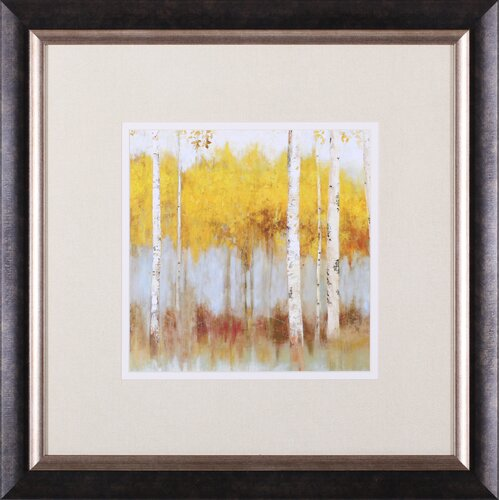 Art Effects Golden Grove I Petite by Allison Pearce Framed Painting Print