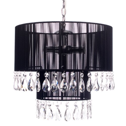 CAFE Lighting Diva Chandelier - Black