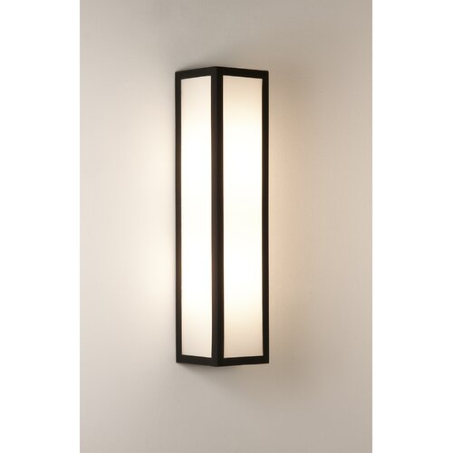 Wayfair Outdoor Wall Lights : Astro Lighting Salerno 2 Light Outdoor Flush Wall Light & Reviews Wayfair UK