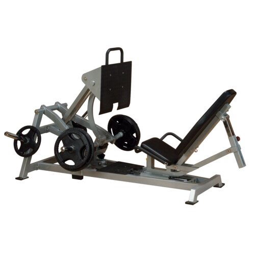 Body Solid Leverage Horizontal Lower Body Gym