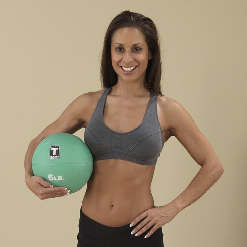 Body Solid Medicine Balls in Aqua