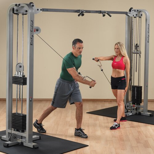Body Solid Pro Club Crossover Machine
