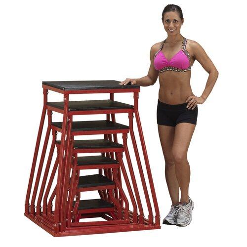 Body Solid 7 Piece Aerobic Stepper