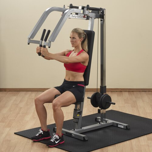 Body Solid Plate Loaded Pec Upper Body Gym
